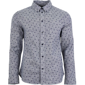 United By Blue Norde Stretch LS Button Down Men Navy-Grizzly